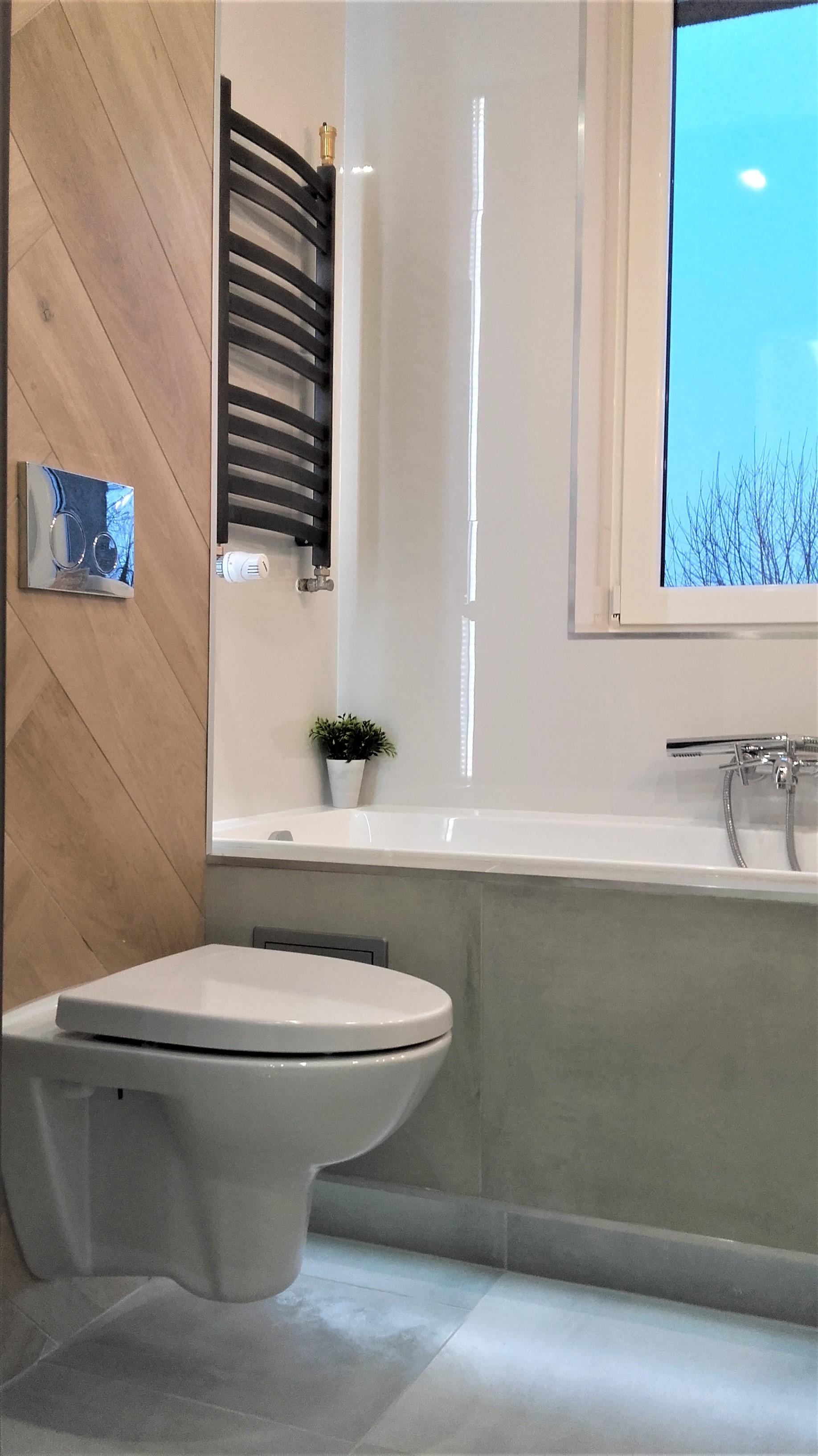 Remont Mała łazienka Z Oknem